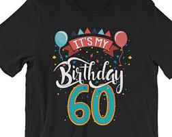 gifts for turning 60 turning 60 etsy