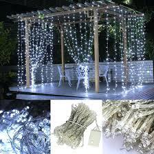 Led Light Curtains Led Light Garden String Lights White Curtain Light Curtain Light