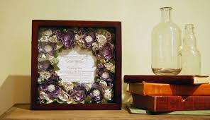 wedding flowers paperweight turn your wedding bouquet into these 5 things and keep it forever