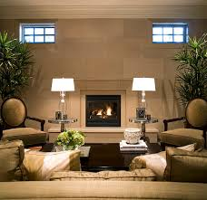 Fireplace Mantels And Surrounds - Living room with fireplace design