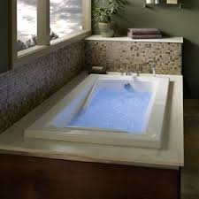 Jetted Whirlpool Drop In Bathtubs Bathtubs The Home Depot Massage Tubs American Standard