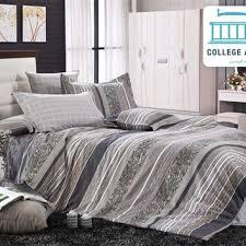 Grey Twin Bedding Shop College Dorm Comforter Sets On Wanelo