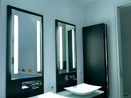 Lighted Bathroom Mirrors Backlit Bathroom Mirror Mirror Design