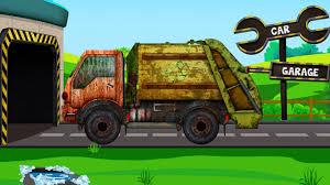 garbage truck car garage car garage kids u0026 toddlers video for