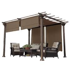 Costco Pergola Cedar by Garden Winds Replacement Gazebo Cover For Gazebos Sold At Sears