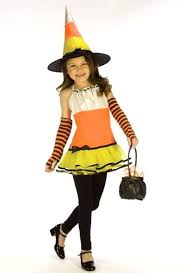 Candy Corn Halloween Costume Kids Candy Corn Witch Costume