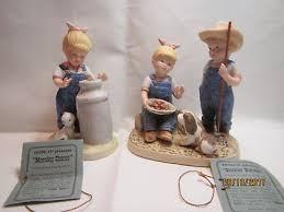 home interior porcelain figurines vtg homco home interiors