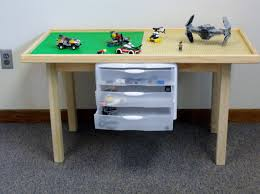Kids Table With Storage by Lego Play Table Lego Storage Table Lego Table Lego Table