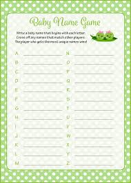 baby shower name game printable gallery baby shower ideas