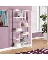 holiday sale monarch specialties bookcase with floating shelves