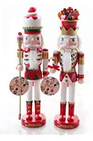 Nutcracker Christmas Tree Ornaments Uk by Selene Trumpet Drum Christmas Nutcracker Soldiers Wooden Walnut