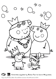 peppa pig colouring printables huge peppa pig prize pack