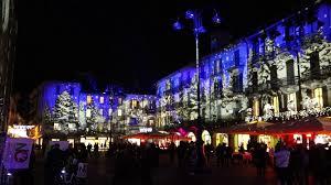 como italy december 2 2016 festive christmas decorations