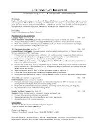 Utility Worker Resume Job Resume Sample Financial Advisor Resume With Professional