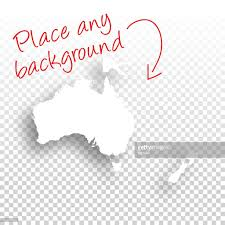 Blank Map Of Oceania by Oceania Map For Design Blank Background Vector Art Getty Images