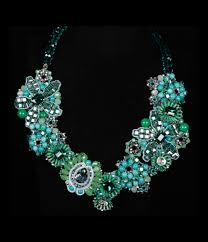 crystal bead necklace images Glass crystal bead necklace jpg