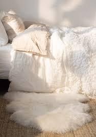 Faux White Sheepskin Rug Decorating Faux Fur Sheepskin Rug Ikea Faux Sheepskin