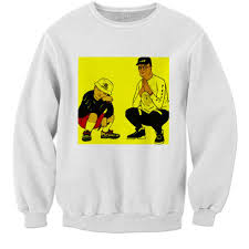 king of the hill of the hill box logo sweater