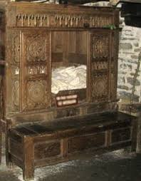 breton box bed lit clos french cabinet bed
