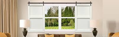 Blinds For Windows And Doors Barn Doors Sliding Barn Doors And Barn Door Shutters Sunburst
