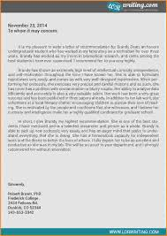 11 grad recommendation letter sample invoice template