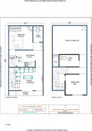 house design 15 x 30 house plan lovely south face house plan south face house plan