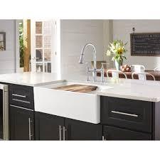 what size sink for 33 base cabinet 33 l x 20 w basin farmhouse apron kitchen sink