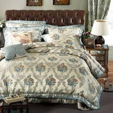 Jacquard Bedding Sets Cotton Quilted Bedspreads King Sizes Luxury Jacquard Embroidered