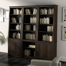 furniture home simple wood sauder bookcase design with white