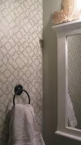 Bathroom Wall Stencil Ideas 33 Best Damask Stencil Images On Pinterest Wall Stenciling
