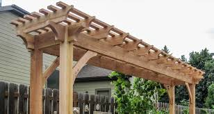 Pergola Rafter End Designs by Pergola Rafter Crescent Step Patterns Patterns Kid