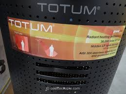 Costco Patio Heaters by Totum Outdoor Patio Propane Heater