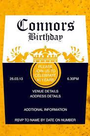 30th birthday invitation corona beer birthday invitation cheers