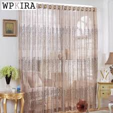 curtain designer designer curtain embroidery small trees tulle windows transparent