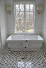 bathroom appealing freestanding bath with shower overhead 72