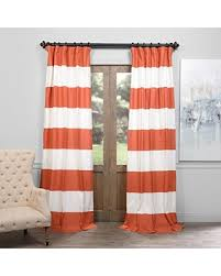 Cotton Curtains And Drapes Bargains On Half Price Drapes Prct Hs03 108 Horizontal Stripe