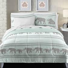 loft style boho elephant bed in a bag set reviews wayfair
