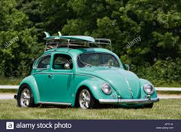 vintage surf car custom volkswagen beetle with matching surf board corydon indiana