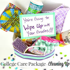 college care packages unique college care package idea cleaning up organized 31
