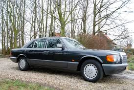 mercedes 560sel cc capsule 1987 mercedes 560 sel the flagship of the eighties