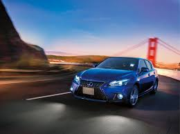 lexus ct 200h lexus ct 200h gets trd body kit and quad exhaust in japan