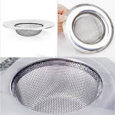 Stainless Steel Sink Strainer Shower Floor Drain Bathroom - Kitchen sink strainer