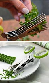kitchen gadget gift ideas 5 blade herb scissors the 27 most awesome small kitchen stuff