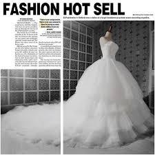 aliexpress com buy new design dream wedding dress luxury tube