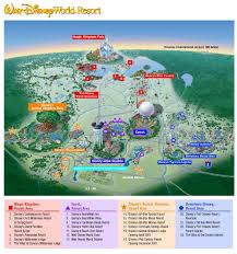 Caribbean Beach Resort Disney Map by Wdw Map Map Of Wdw Florida Usa