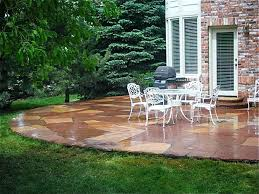Cement Patio Designs Paving Slab Designs Concrete Patio Design Ideas Cement Patio