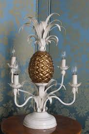 Pineapple Light Fixtures A Vintage Pineapple Lamp For Sale At 1stdibs