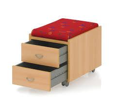 Kettler Schreibtisch Kettler Rollcontainer Sit On Mit 2 Schubladen
