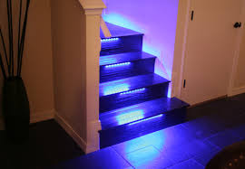 led strip lights for stairs wallace takes his stairs beyond the bulb with color changing led