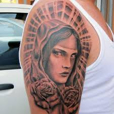 35 inspirational virgin mary tattoos slodive